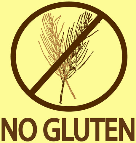 No Gluten Sticker