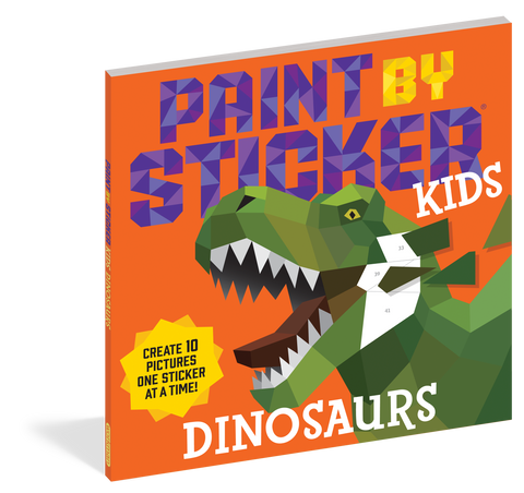 Paint By Sticker Dinosaur Kids