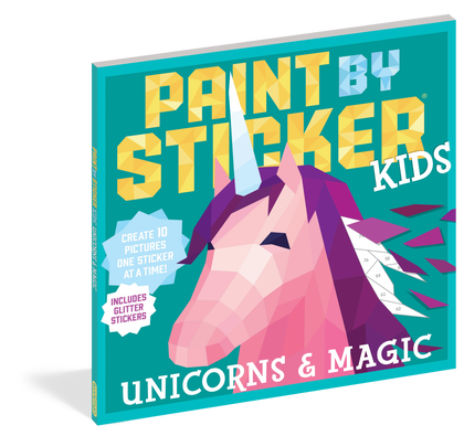 Paint By Sticker Kids Unicorn