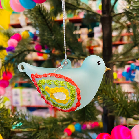 Pattern Bird Ornament (Choose One)