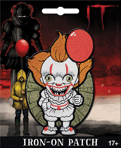 Pennywise Iron-On Patch