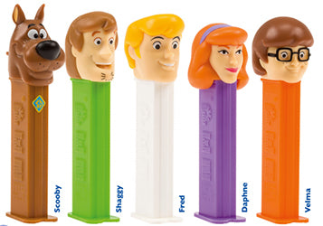 Pez Scooby Doo Blister (Choose One)