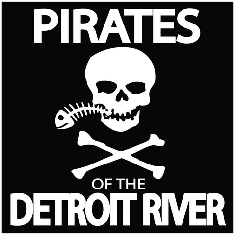Pirates Of The Detroit River Sticker
