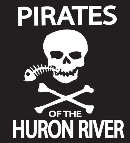 Pirates Of The Huron River Sticker