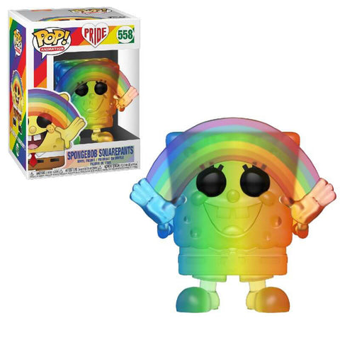 Pride Spongebob POP Figure