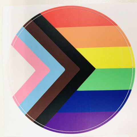 Progress Pride Flag Sticker
