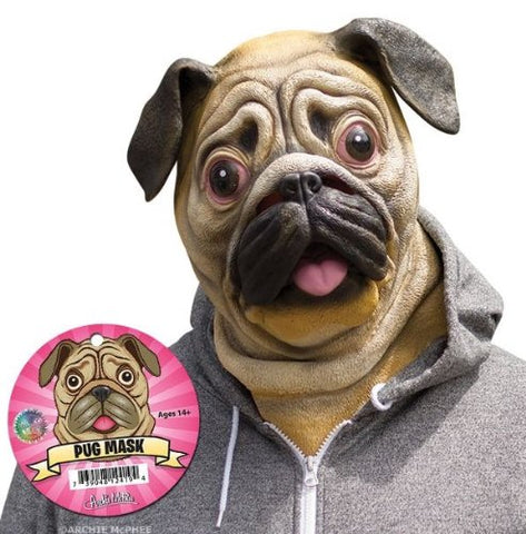 Pug Rubber Mask