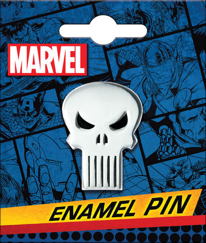 Punisher Skull Enamel Pin
