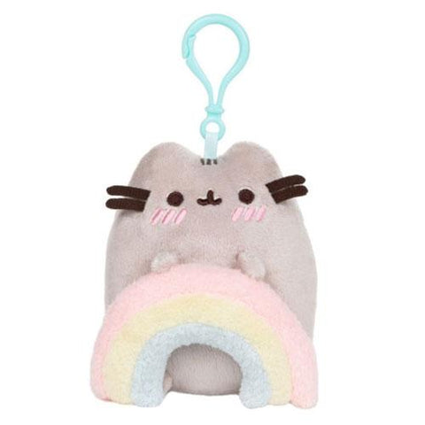 Pusheen Rainbow Backpack Clip