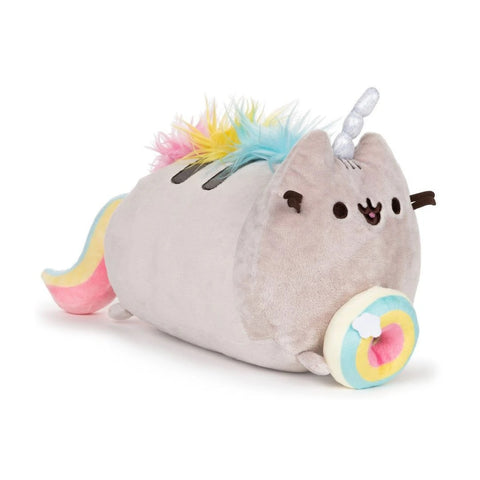 Pusheenicorn Log Plush Donut