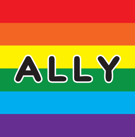 Rainbow Ally Sticker