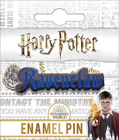 Ravenclaw Name Enamel Pin