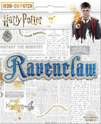 Ravenclaw Name Iron-On Patch