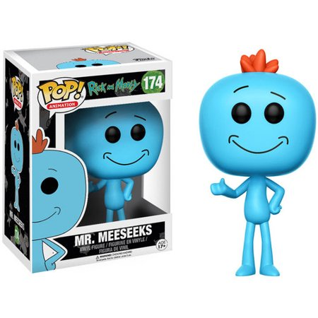 Rick And Morty Mr. Meeseeks Funko POP Figure