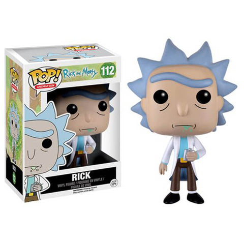 Rick Sanchez POP Figure Rick & Morty