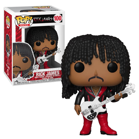 Rick James POP Figure