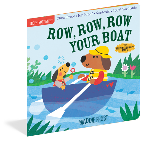 Row Your Boat Indestructible Book
