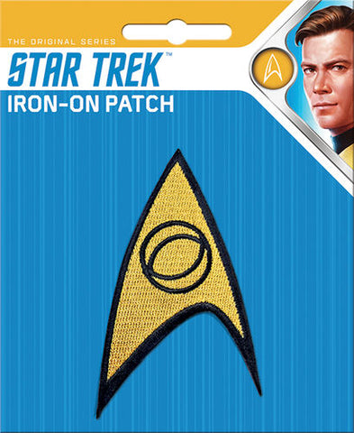 Science Insignia Iron-On Patch