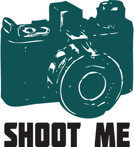 Shoot Me Sticker