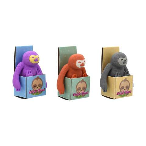 Sloth In A Box Eraser Set