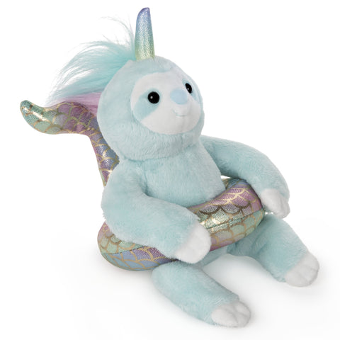 Slothicorn Mermaid Float Plush