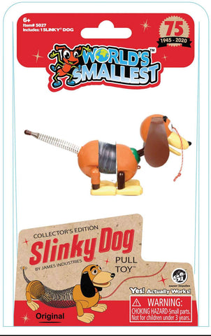 Smallest Slinky Dog