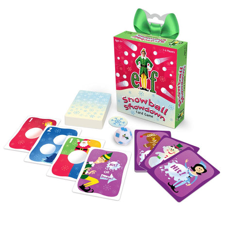 Snowball Showdown Card Game