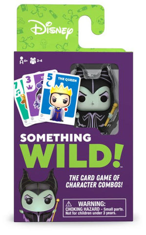 Something Wild Card Game Disney Villains