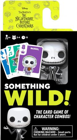 Something Wild Card Game Nightmare Before Christmas