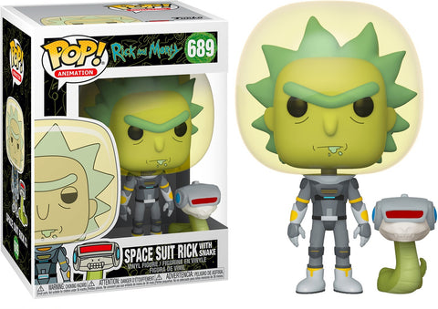 Space Suit Rick POP Figure Rick & Morty