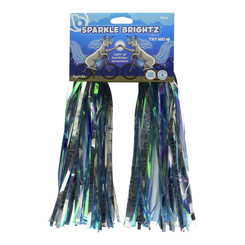 Sparkle Brightz Blue Streamers