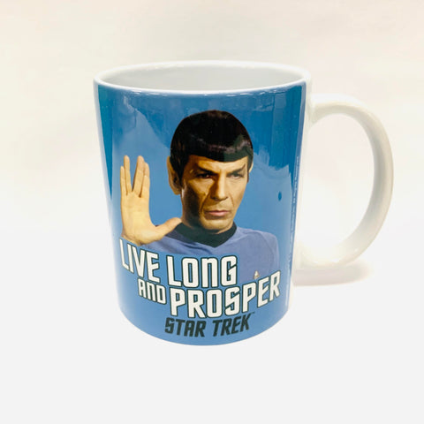 Star Trek Spock Quote Mug