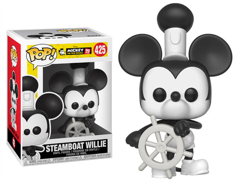 Steamboat Willie POP Figure Mickey Mouse