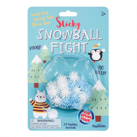 Sticky Snowball Fight