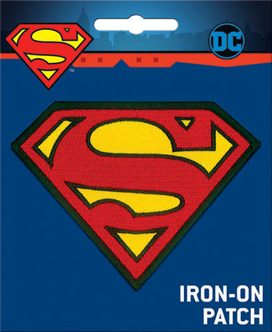 Superman Iron-On Patch