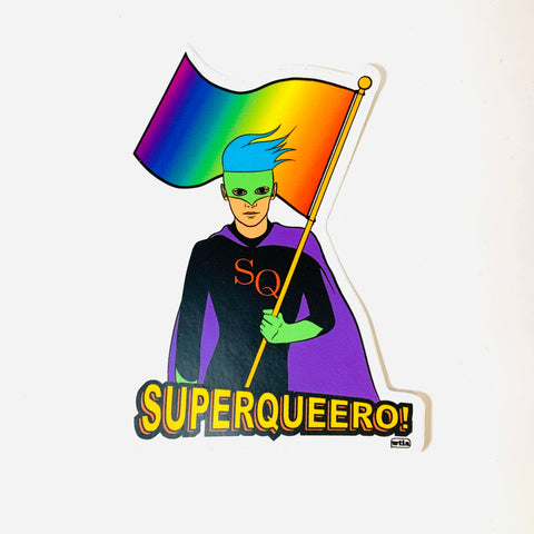 Superqueero Sticker