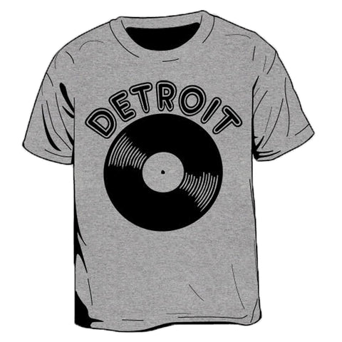 Detroit Vinyl Kid's T-Shirt