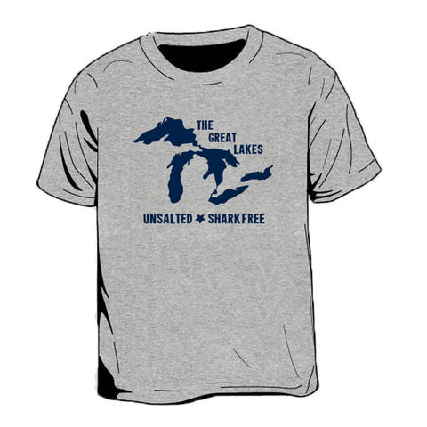 Great Lakes Unsalted Kid's T-Shirt