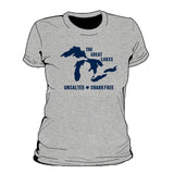 Great Lakes Unsalted Women's T-Shirt