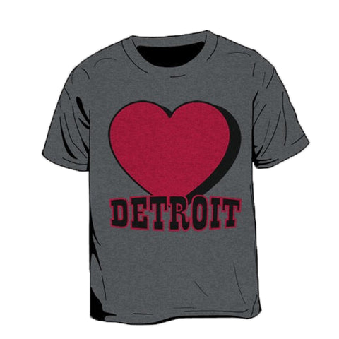 Heart Detroit Kid's T-Shirt