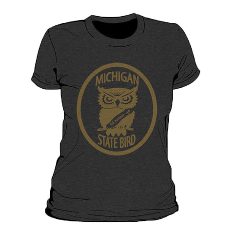 Michigan State Bird Women's T-Shirt