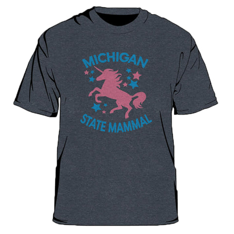 Michigan State Mammal Men's T-Shirt