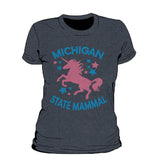 Michigan State Mammal Women's T-Shirt