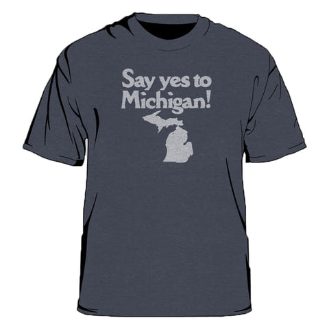 Say Yes To Michigan Kid's T-Shirt
