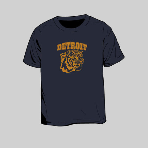 Tiger Detroit Toddlers T-Shirt