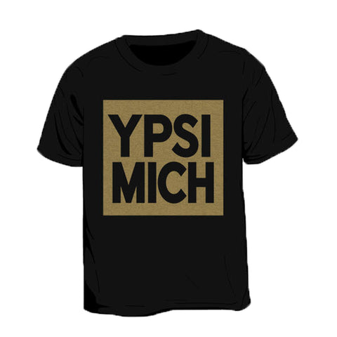 Ypsi Mich Gold Kid's T-Shirt