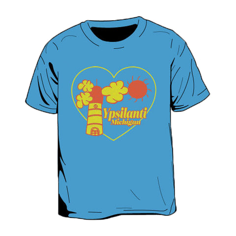 Ypsilanti Cartoon Kid's T-Shirt