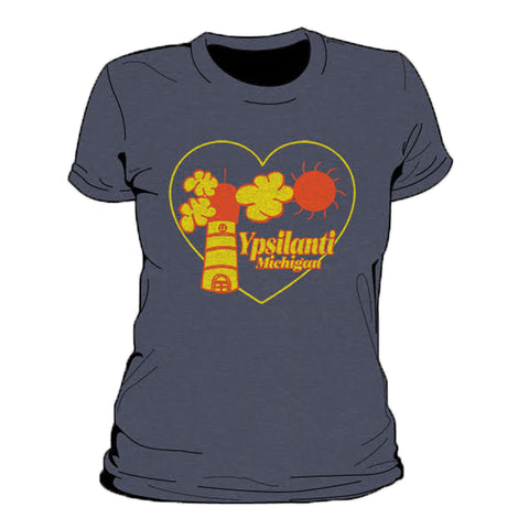 Ypsilanti Cartoon Women's T-Shirt