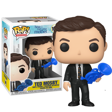 Ted Mosby POP Figure How I Met Your Mother