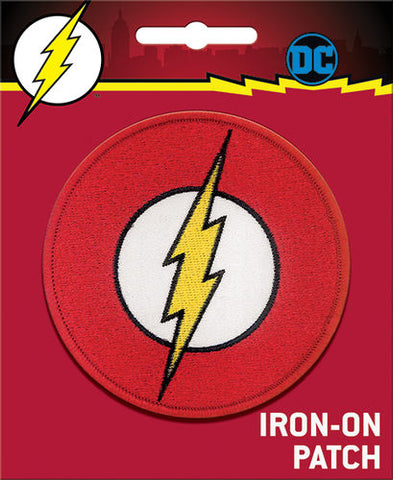 The Flash Iron-On Patch